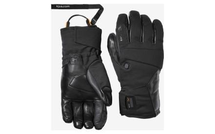ce9757c4258 Pánské lyžařské membránové rukavice Kjus Men BT 2.0 Glove – black