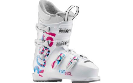 Dětské sjezdové boty Rossignol Fun Girl J4 white ee68a727bf