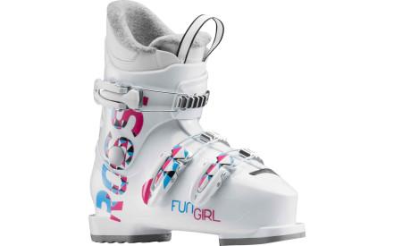 Dětské sjezdové boty Rossignol Fun Girl J3 white 07949e3d5e