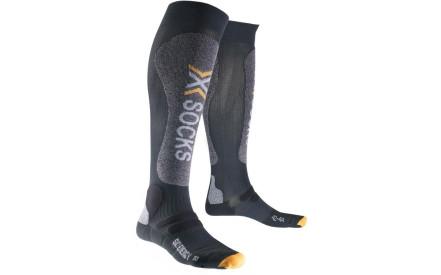 Lyžařské ponožky X-Socks Ski Energizer Smart Compression Socks Men -  Anthracite Grey Mouliné 03c0433841