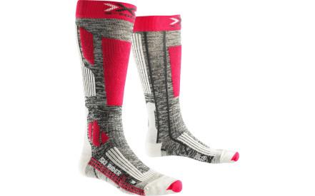 Dámské lyžařské ponožky X-Socks Ski Rider 2.0 Socks Women - Grey  Melange Fuchsia b99ec71dbc