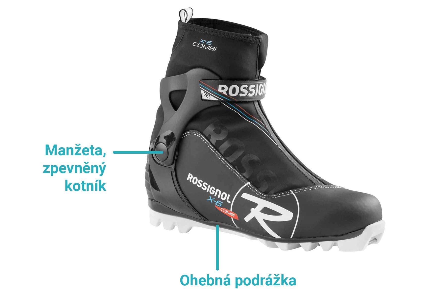 Hlavním rozdílem oproti botám na bruslení pak je ohebná špička 82dd14e1a3