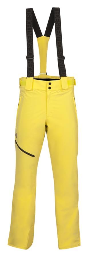 Pánské lyžařské kalhoty Descente Spain - yellow 48