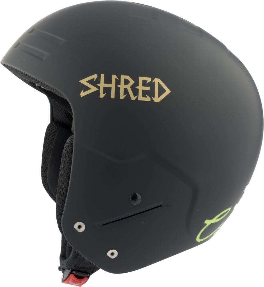 Dámská lyžařská přilba Shred Basher Noshock Lg - Lara Gut Signature -  black gold M 3f70d30809d
