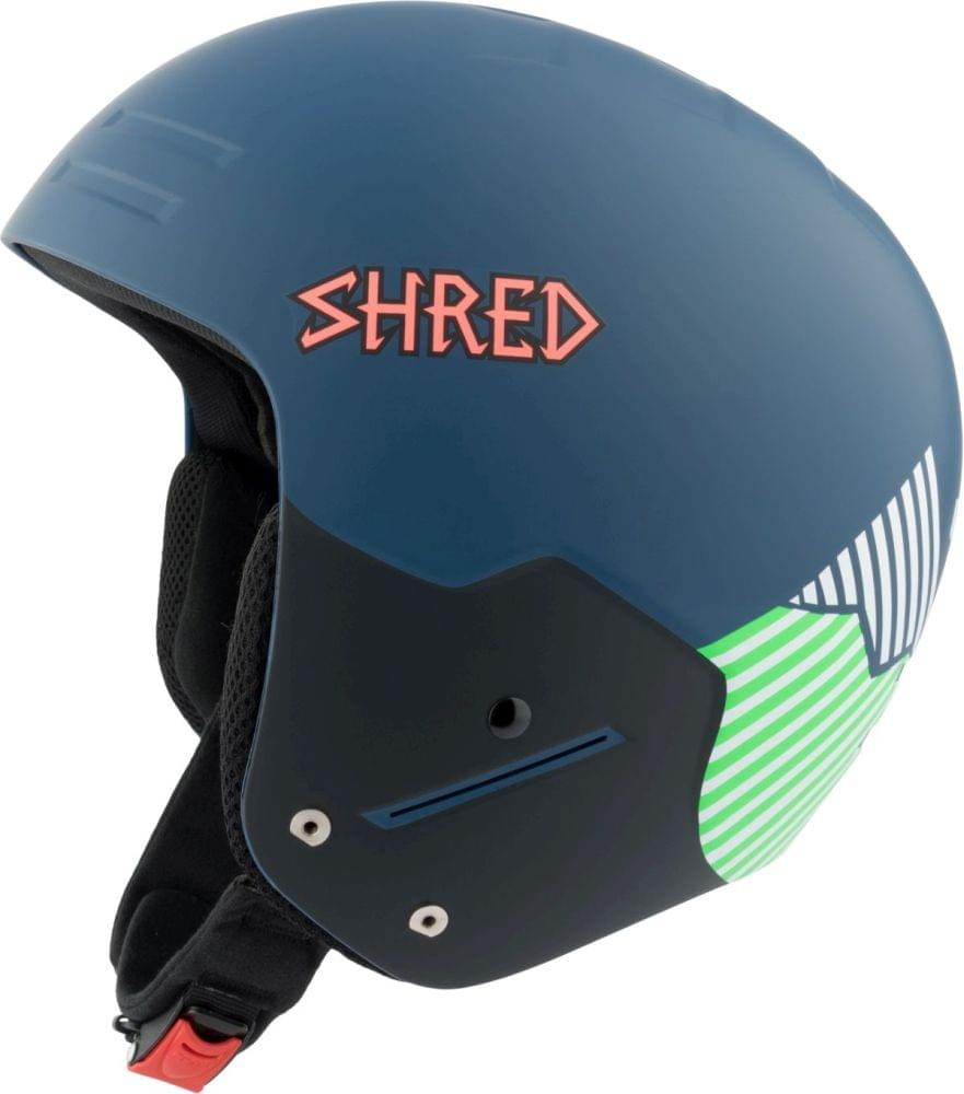 Lyžařská přilba Shred Basher Noshock Needmoresnow - navy blue green L 65cf339f166