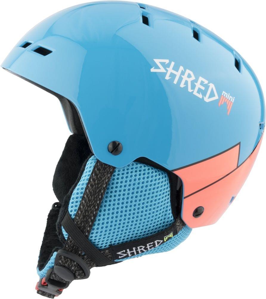 Dětská lyžařská přilba Shred Bumper Mini Warm Wee Blue/Rust - blue/rust M