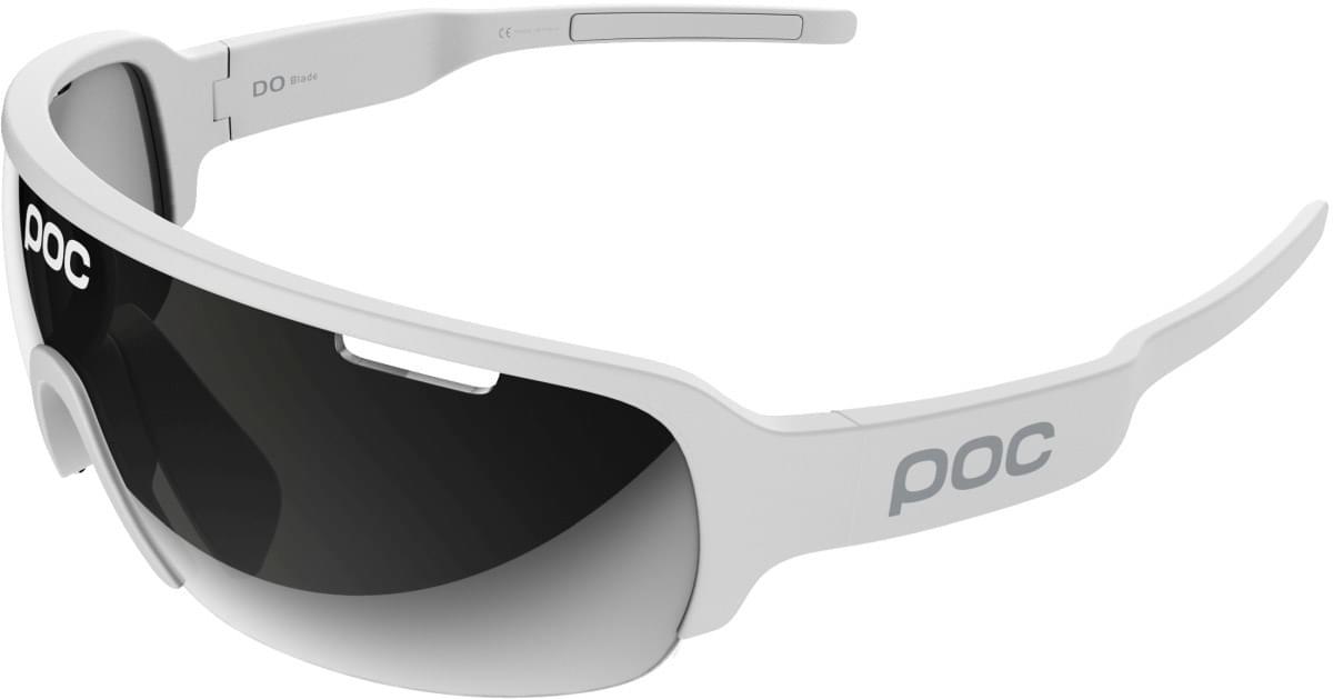 POC DO Half Blade - Hydrogen White - Violet/Silver Mirror uni
