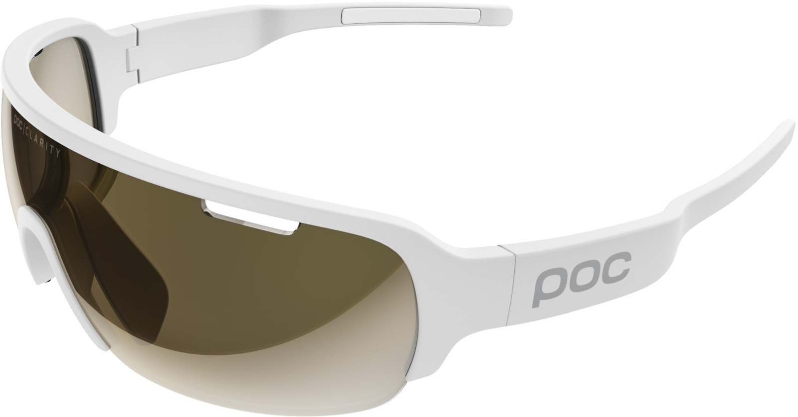 POC DO Half Blade - Hydrogen White - Violet/Gold Mirror uni