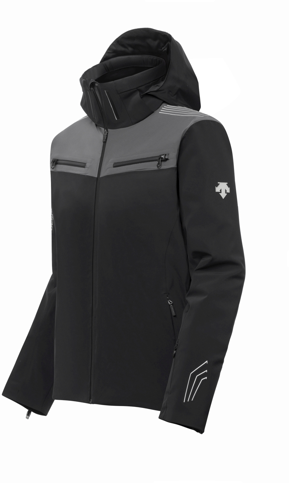 Descente Swiss Ski - black/gun metallic XL