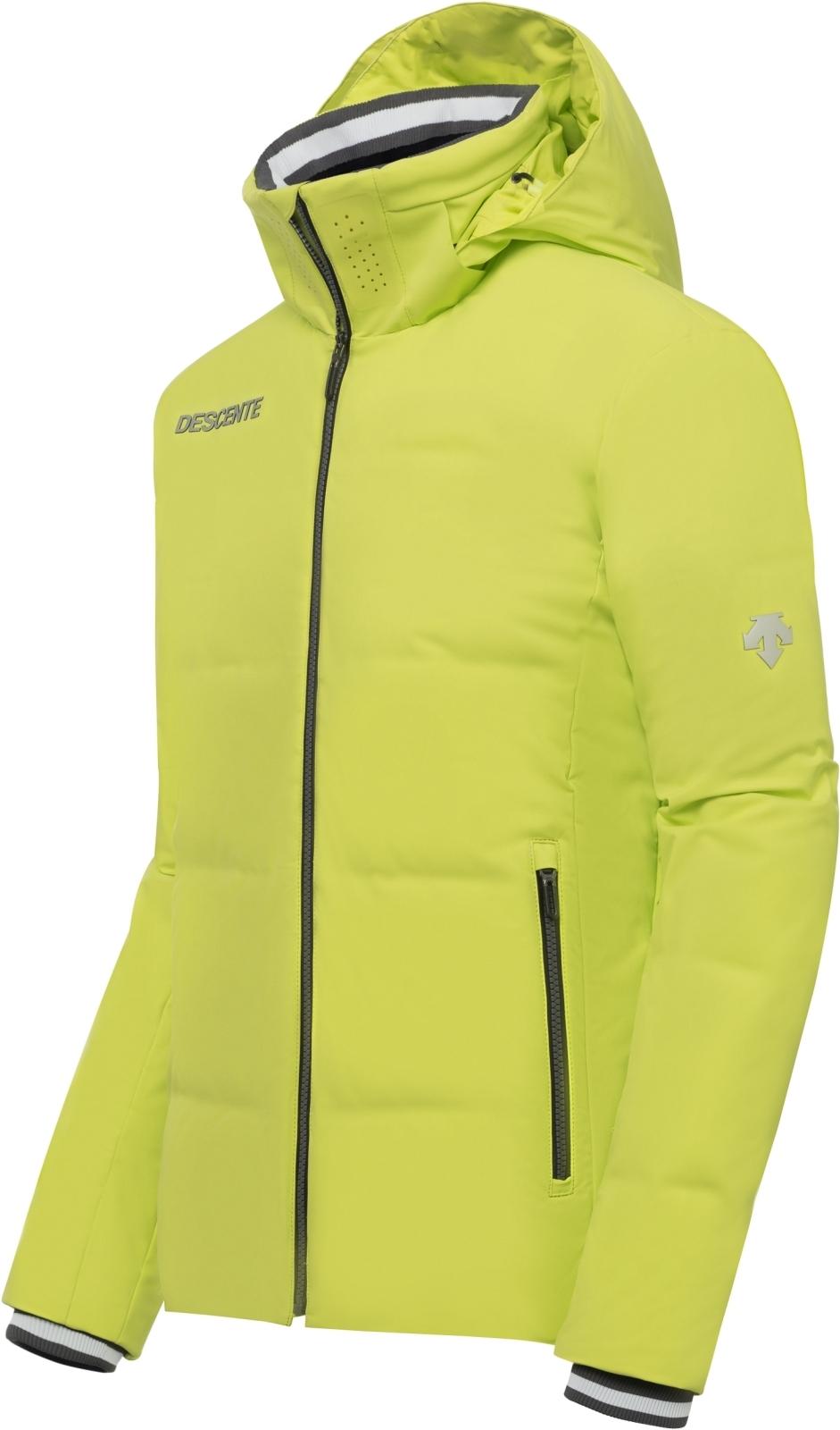 acdd71c3a29 Pánská péřová lyžařská bunda Descente Nilo - lime green - Ski a Bike ...
