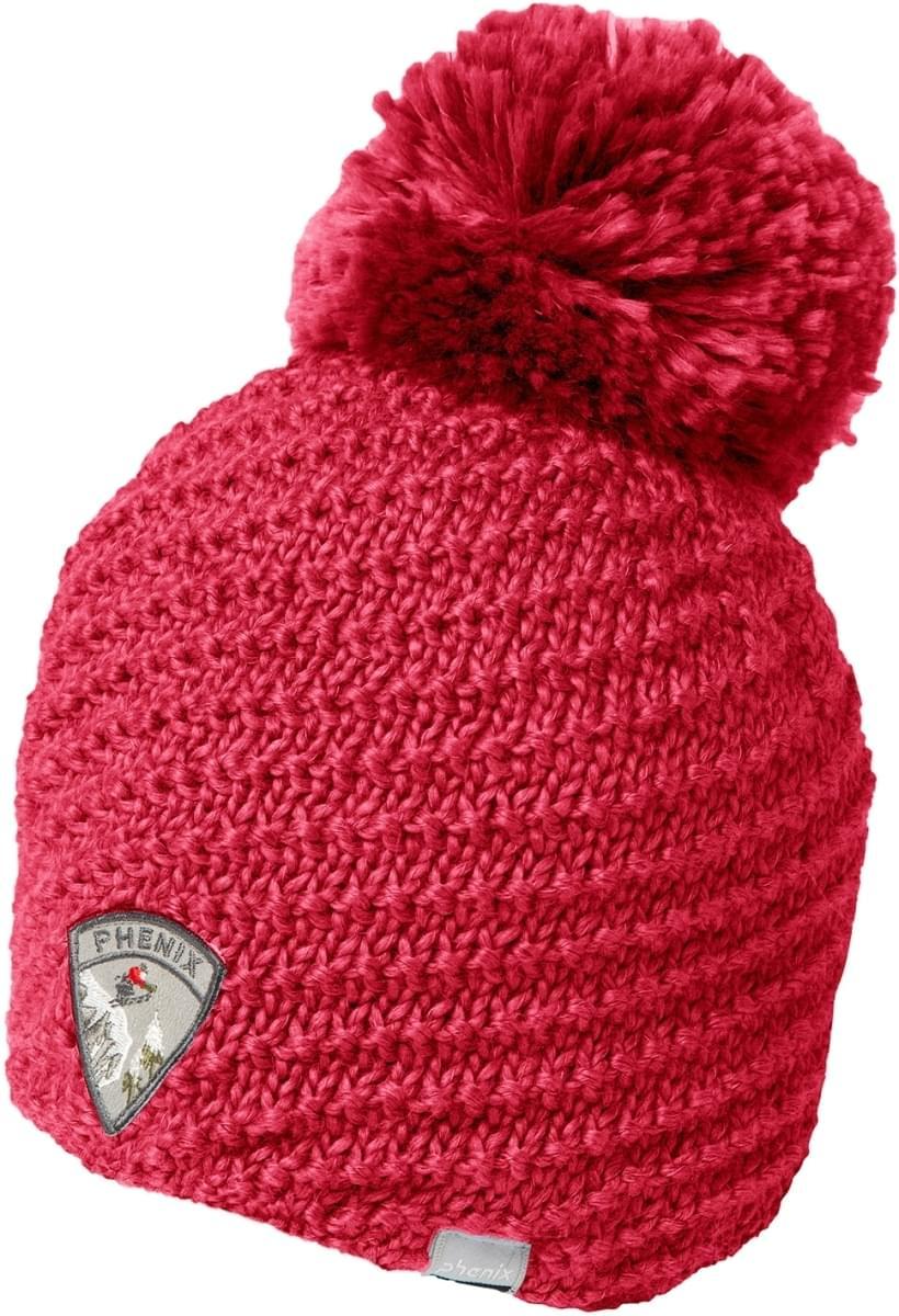 f4c17e8d727 Dámská lyžařská čepice Phenix Montclair Knit Hat With Pon-Pon - CO ...