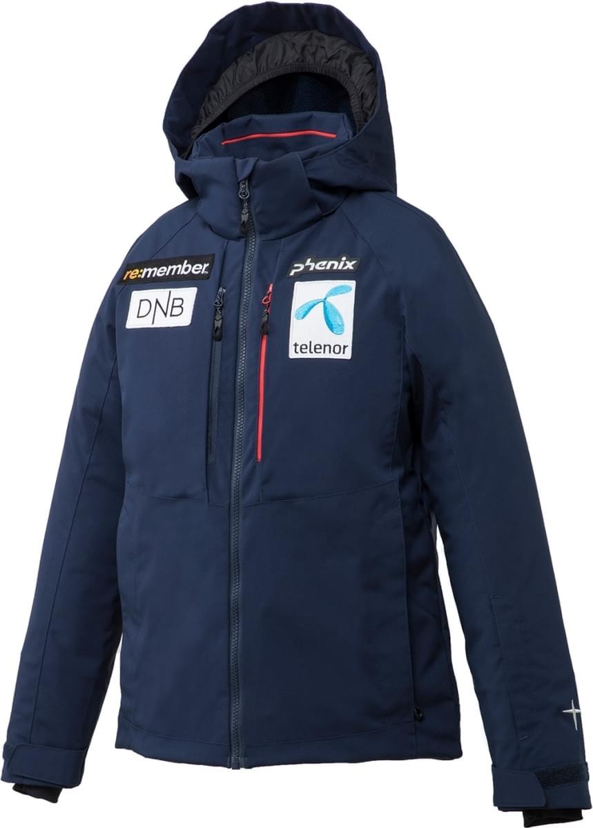 Juniorská membránová lyžařská bunda Phenix Norway Alpine Ski Team Replica  Jr. Jacket - NV1 a7652d1c409