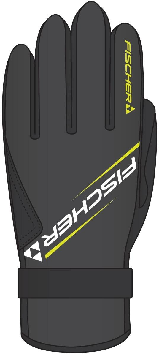 869b94f1304 Běžkařské rukavice Fischer XC Glove Performance - Black Yellow - Ski ...
