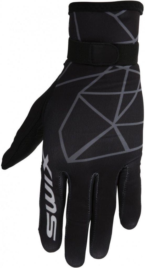 d39a3d4ce72 Pánské běžkařské rukavice Swix Competition Windstopper - black - Ski ...