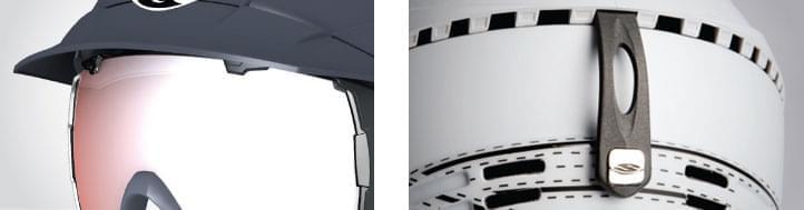 94bc9a469 Toto provedení se helmy také dobře hodí pro lyžaře nosící dioptrické brýle.