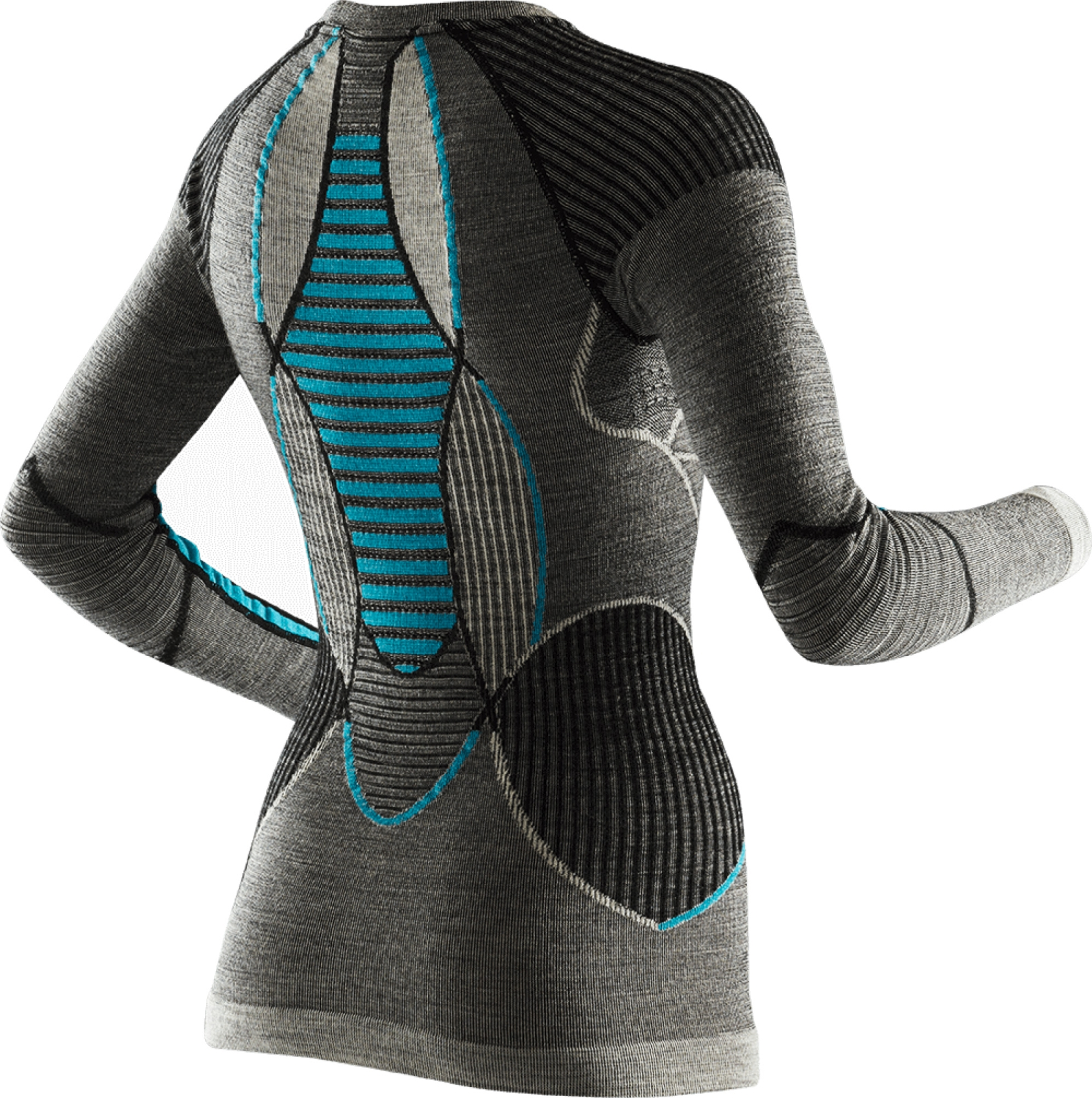 Dámské funkční tričko Apani Merino By X-Bionic Fastflow Shirt Long Round  Neck Women - 9e4aab9434