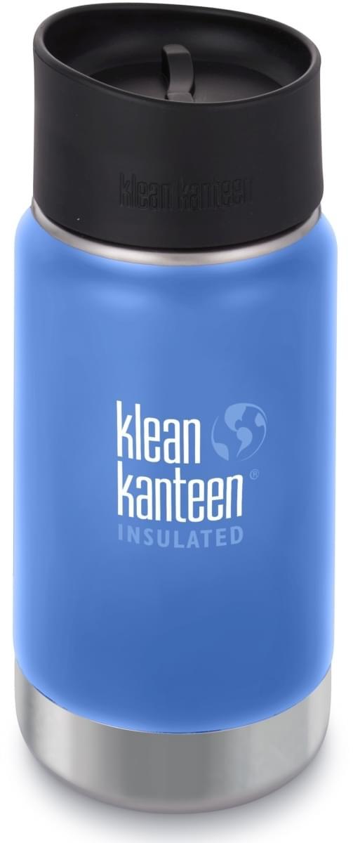 Klean Kanteen Insulated Wide w/Café Cap 2.0 - pacific sky 355 ml uni