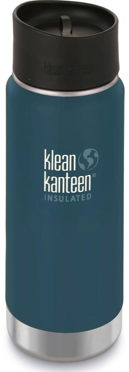 Klean Kanteen Insulated Wide - neptune blue 473 ml uni
