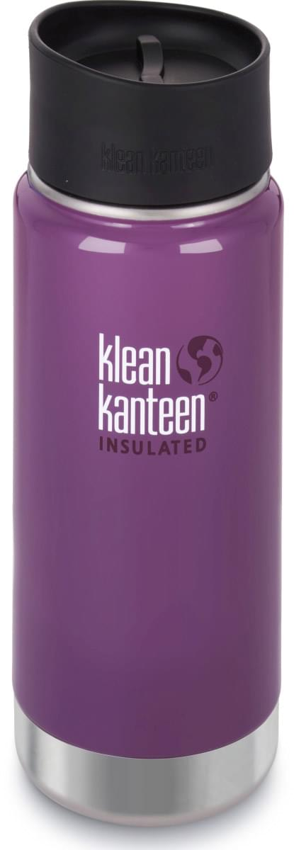Klean Kanteen Insulated Wide - wild grape 473 ml uni