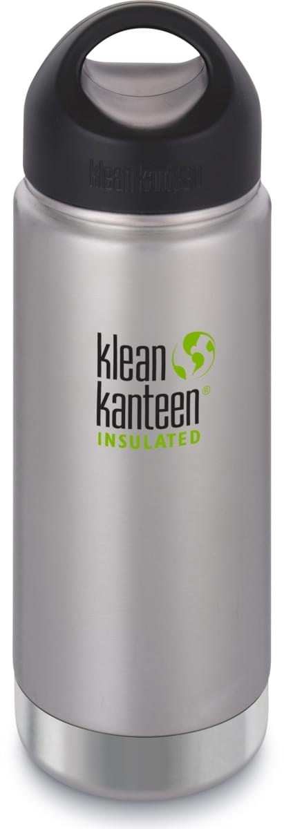 Klean Kanteen Insulated Wide w/Wide Loop Cap - brushed stainless 473 ml uni