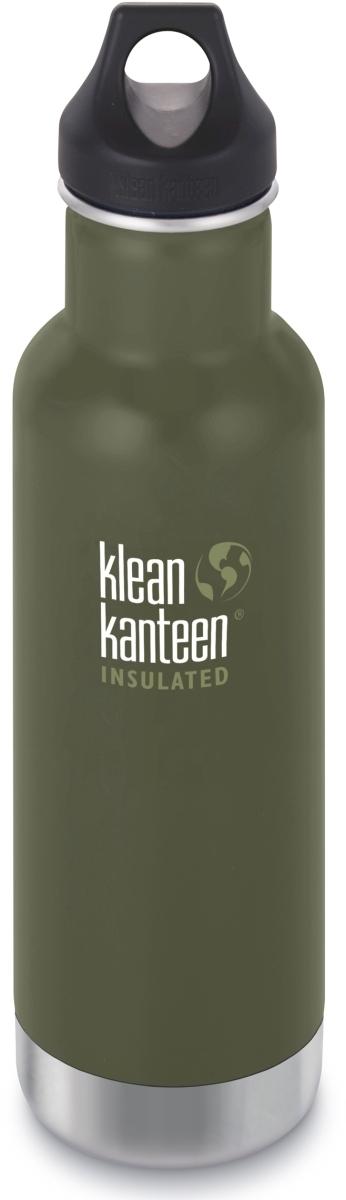 Klean Kanteen Insulated Classic w/Loop Cap - fresh pine 592 ml uni