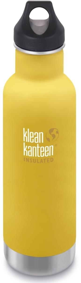 Klean Kanteen Insulated Classic w/Loop Cap - lemon curry 592 ml uni