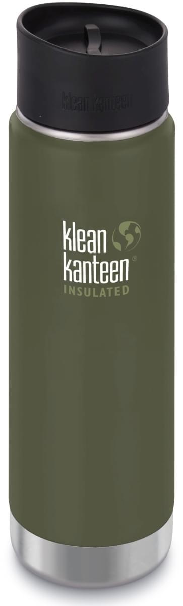 Klean Kanteen Insulated Wide w/Café Cap 2.0 - fresh pine 592 ml uni