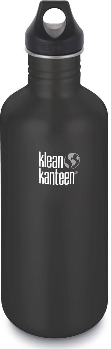 Klean Kanteen Classic w/Loop Cap - shale black 1182 ml uni