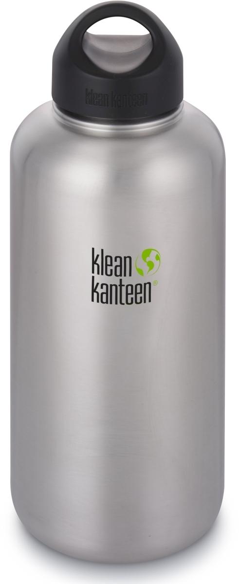 Klean Kanteen Wide w/Wide Loop Cap - brushed stainless 1900 ml uni