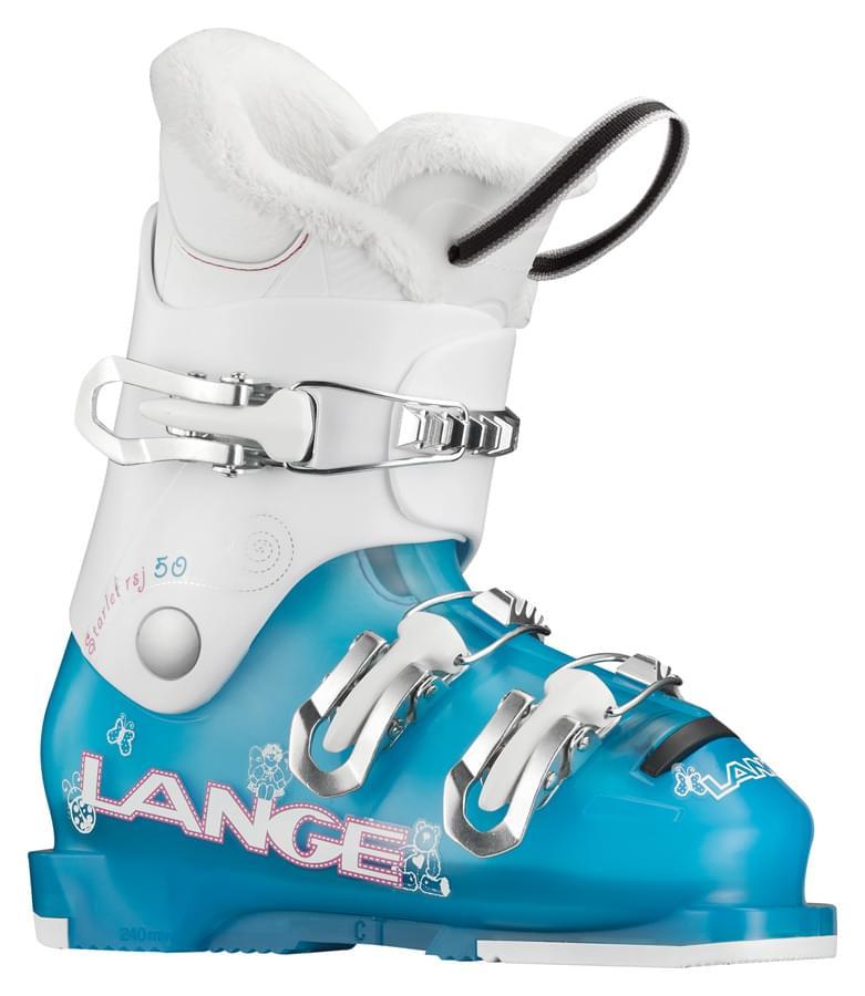Dívčí lyžařské boty Lange Starlett 50 tr.aqua-white 190