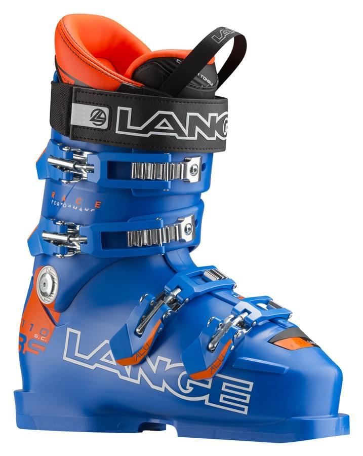 Lyžařské boty Lange RS 110 power blue 260