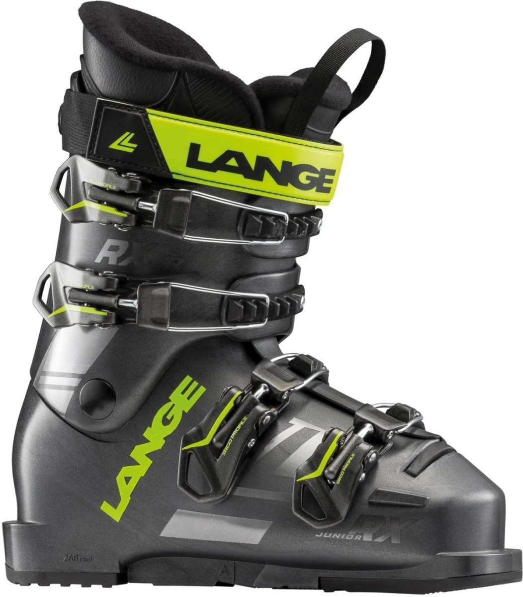 2259554631f Dětské lyžařské boty Lange RXJ - anthracite-lime - Ski a Bike ...