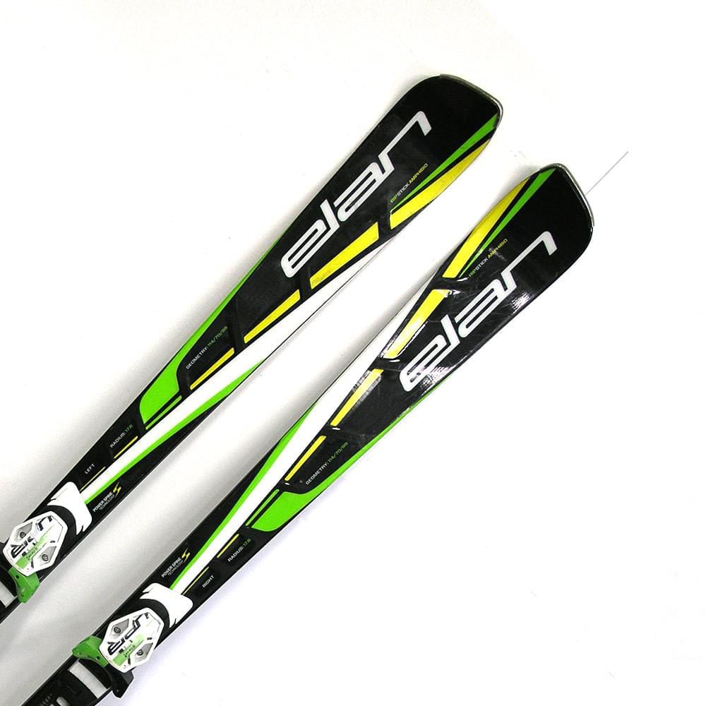 Bazar - sjezdové lyže Elan Amphibio Ripstick 14/15 + ELX 12.0 177cm 177
