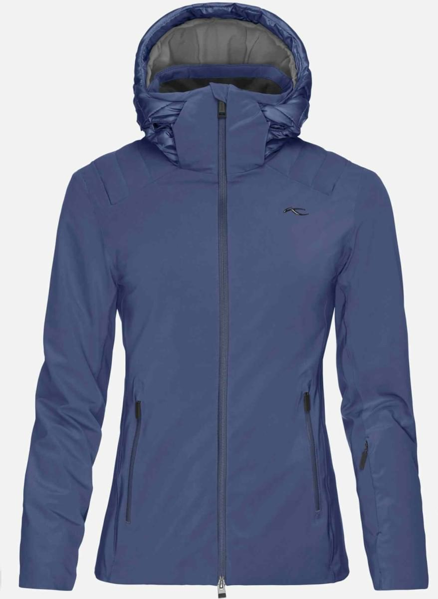 Dámská membránová lyžařská bunda Kjus Women Scylla Jacket - atlanta blue fd8863d94c