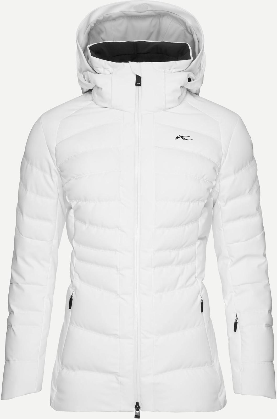 Dámská péřová lyžařská bunda Kjus Women Duana Jacket - white - Ski a ... a963ce694e