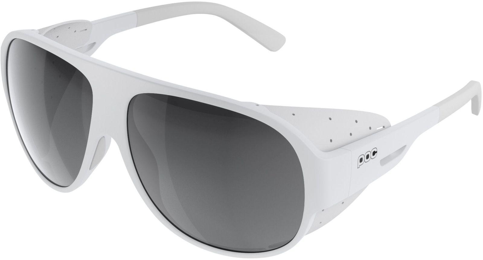 POC Nivalis - Hydrogen White - Grey/White Mirror uni