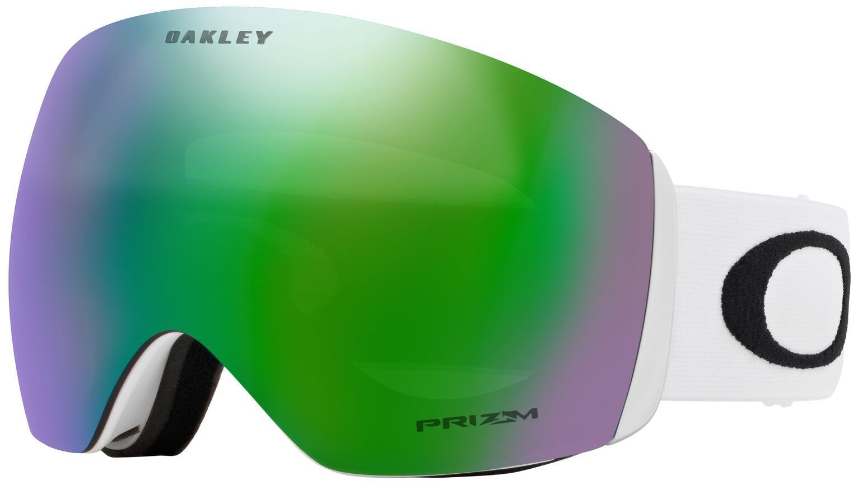 Oakley Flight Deck - Matte White Prizm Jade Iridium uni