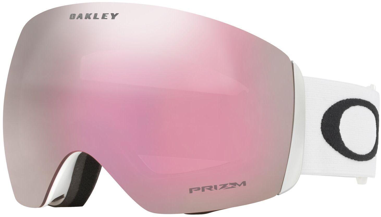 Oakley Flight Deck - Matte White/Prizm Hi Pink Iridium uni