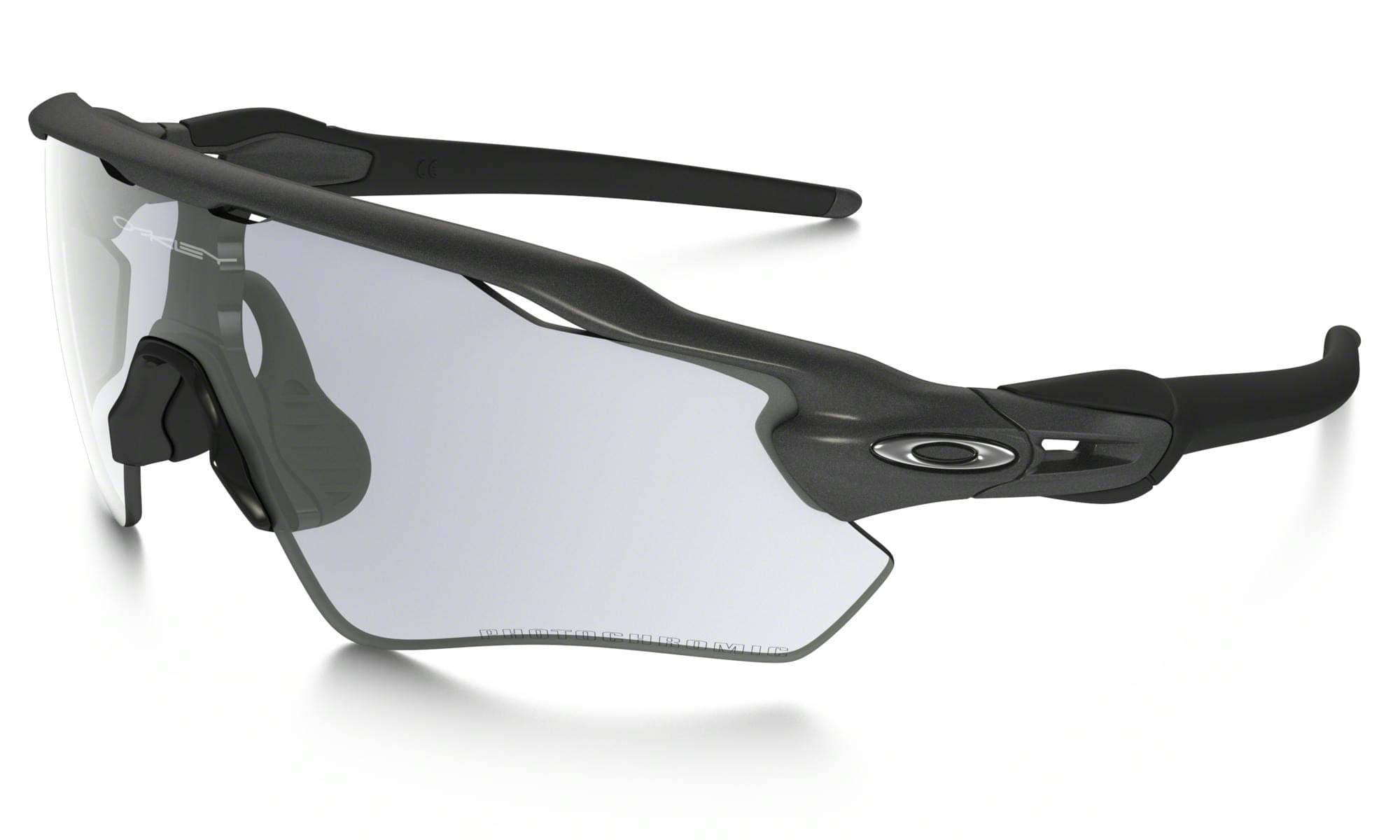 Sportovní brýle Oakley Radar EV - Steel/Clear Black Iridium Photochromic Activated uni
