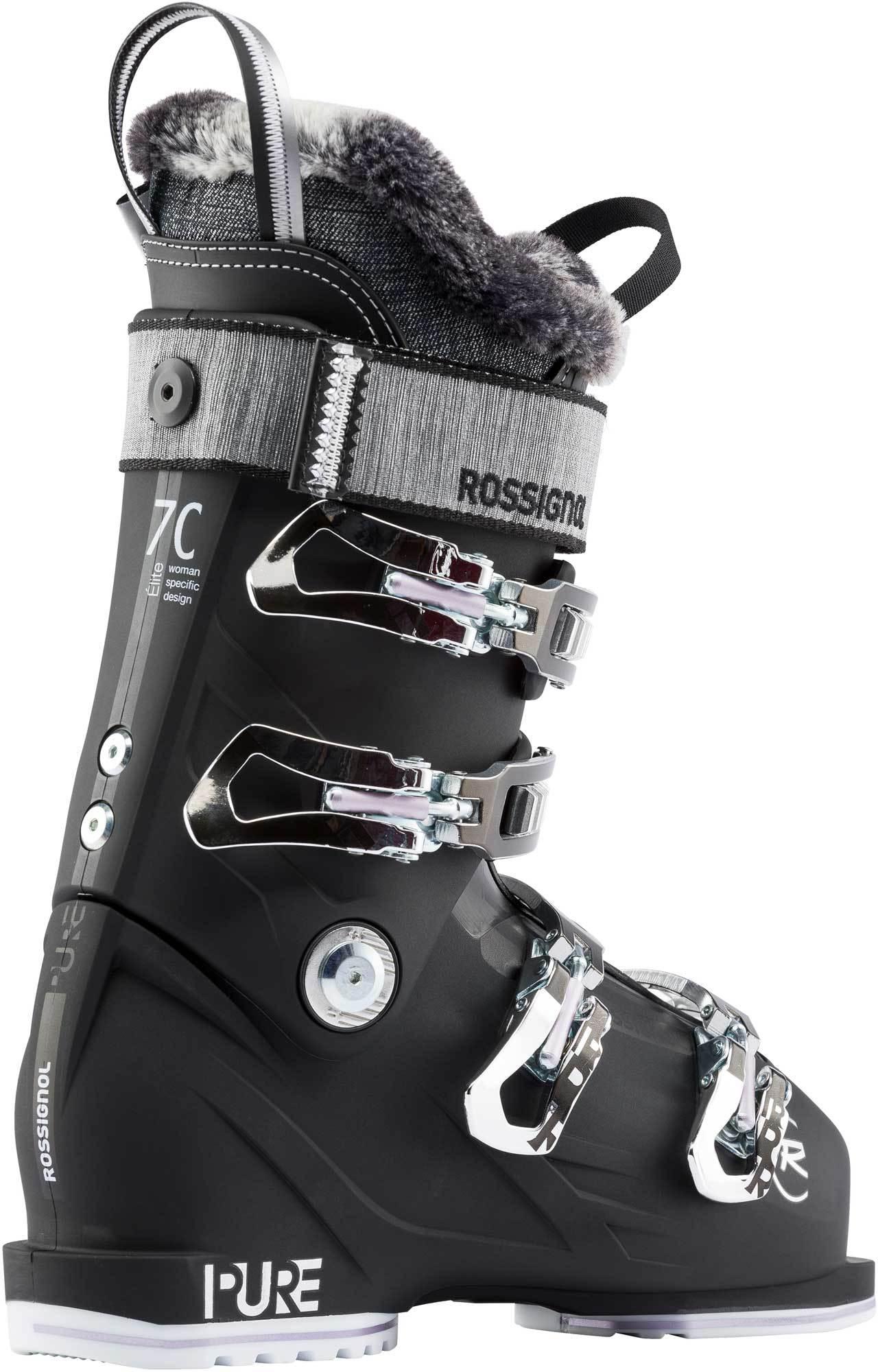 559f2c80a54 Dámské sjezdové boty Rossignol Pure Elite 70 black - Ski a Bike ...