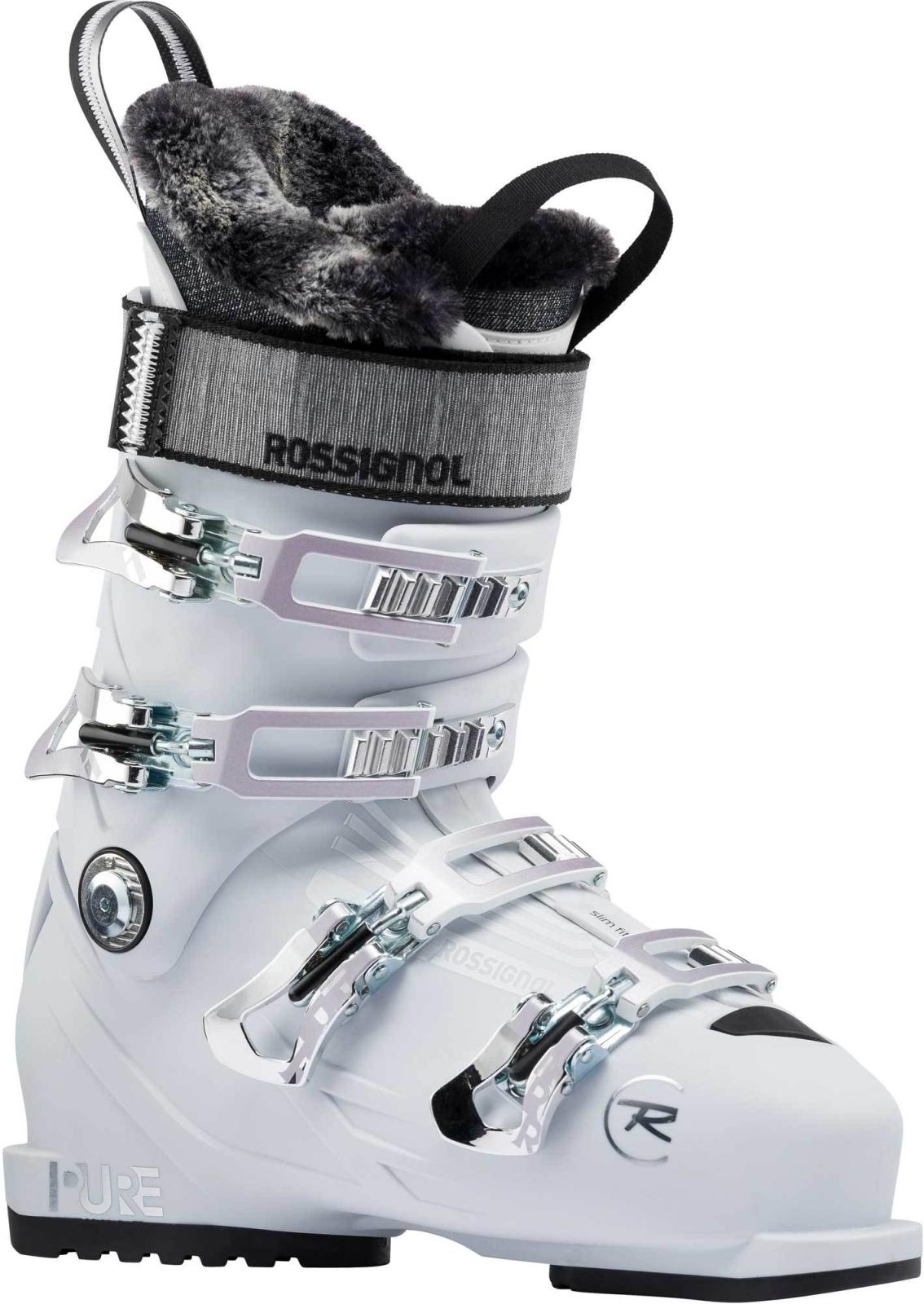 Dámské sjezdové boty Rossignol Pure Pro 90 white grey - Ski a Bike ... d8e7d1994e