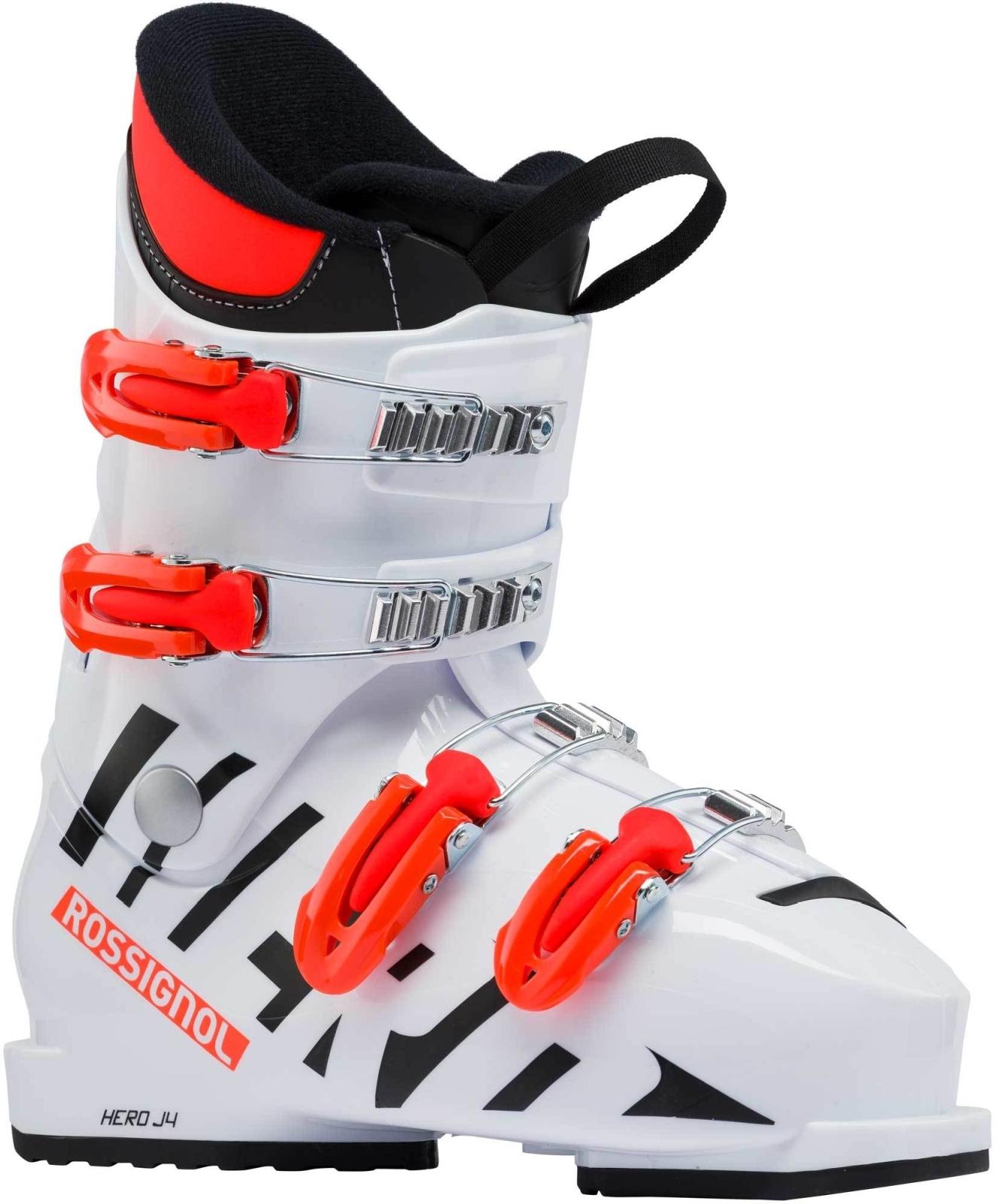 Dětské sjezdové boty Rossignol Hero J4 white - Ski a Bike Centrum ... 67c2ee5efd