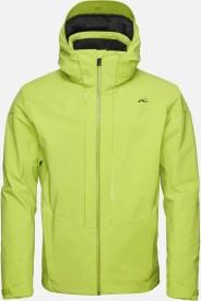 Pánská membránová lyžařská bunda Kjus Men Sight Line Jacket - lime green bd88eecb79