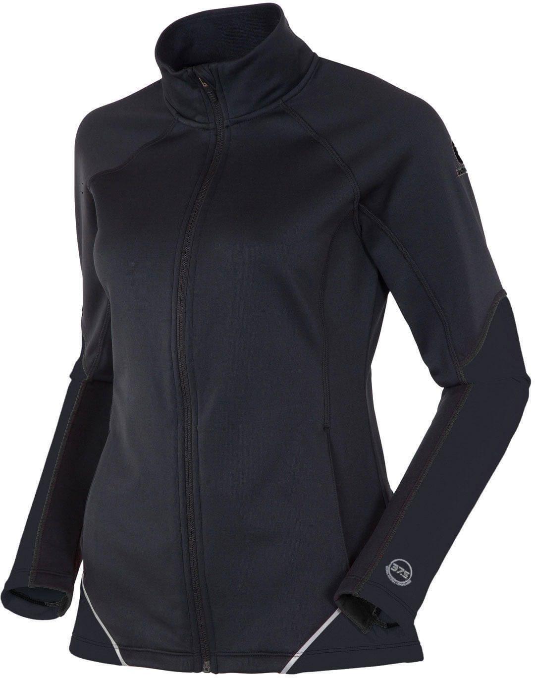 Dámská běžkařská bunda Rossignol Women FZ Ellips Jacket - black M