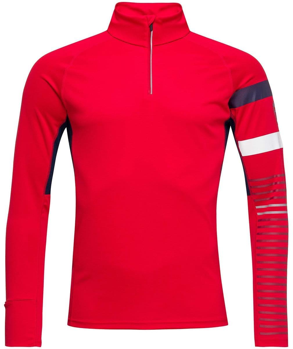 Rossignol Poursuite 1/2 Zip - sport red L