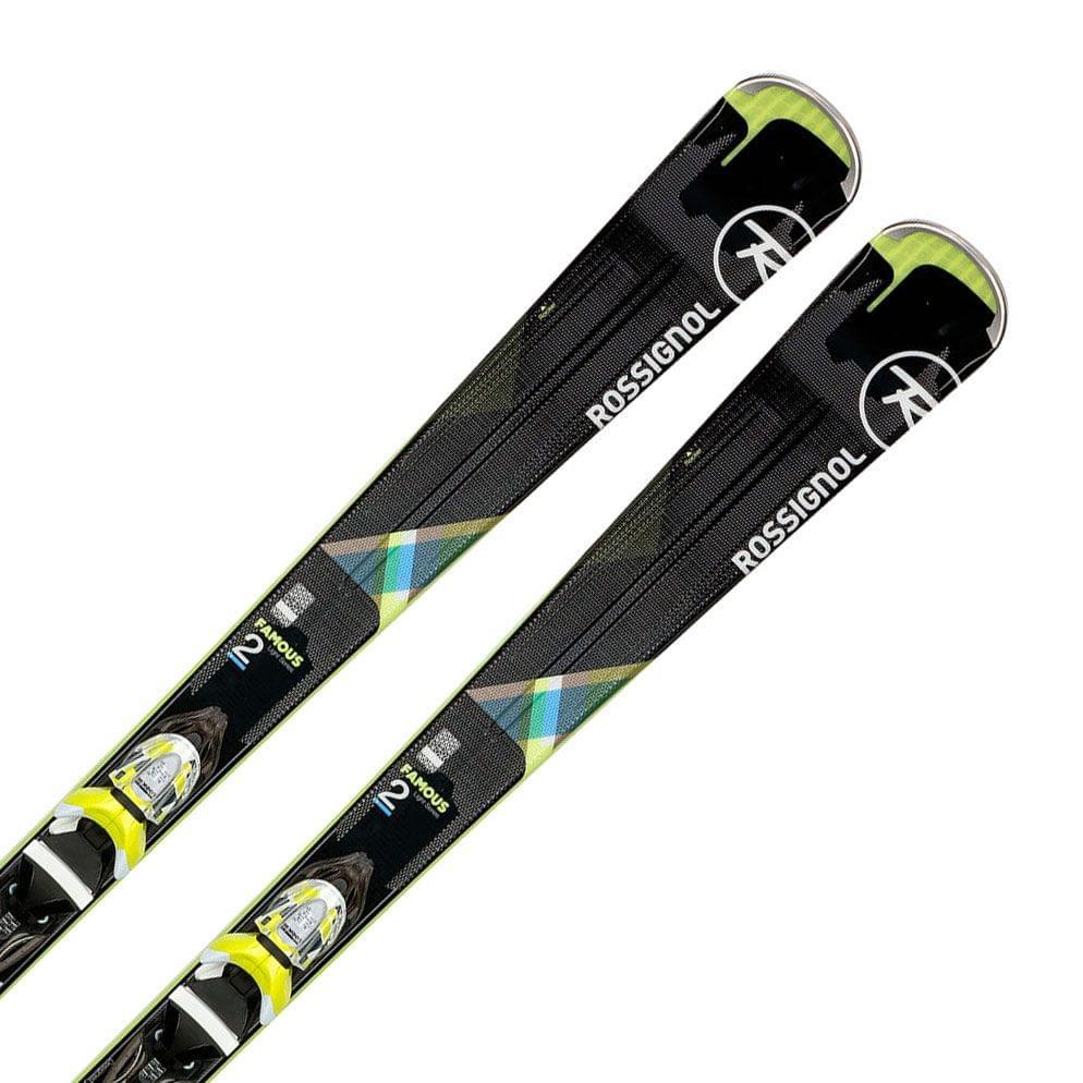 27f2b3a9a Dámské sjezdové lyže Rossignol Famous 2 Xpress+vázání Xpress W 10 B83 bk/li