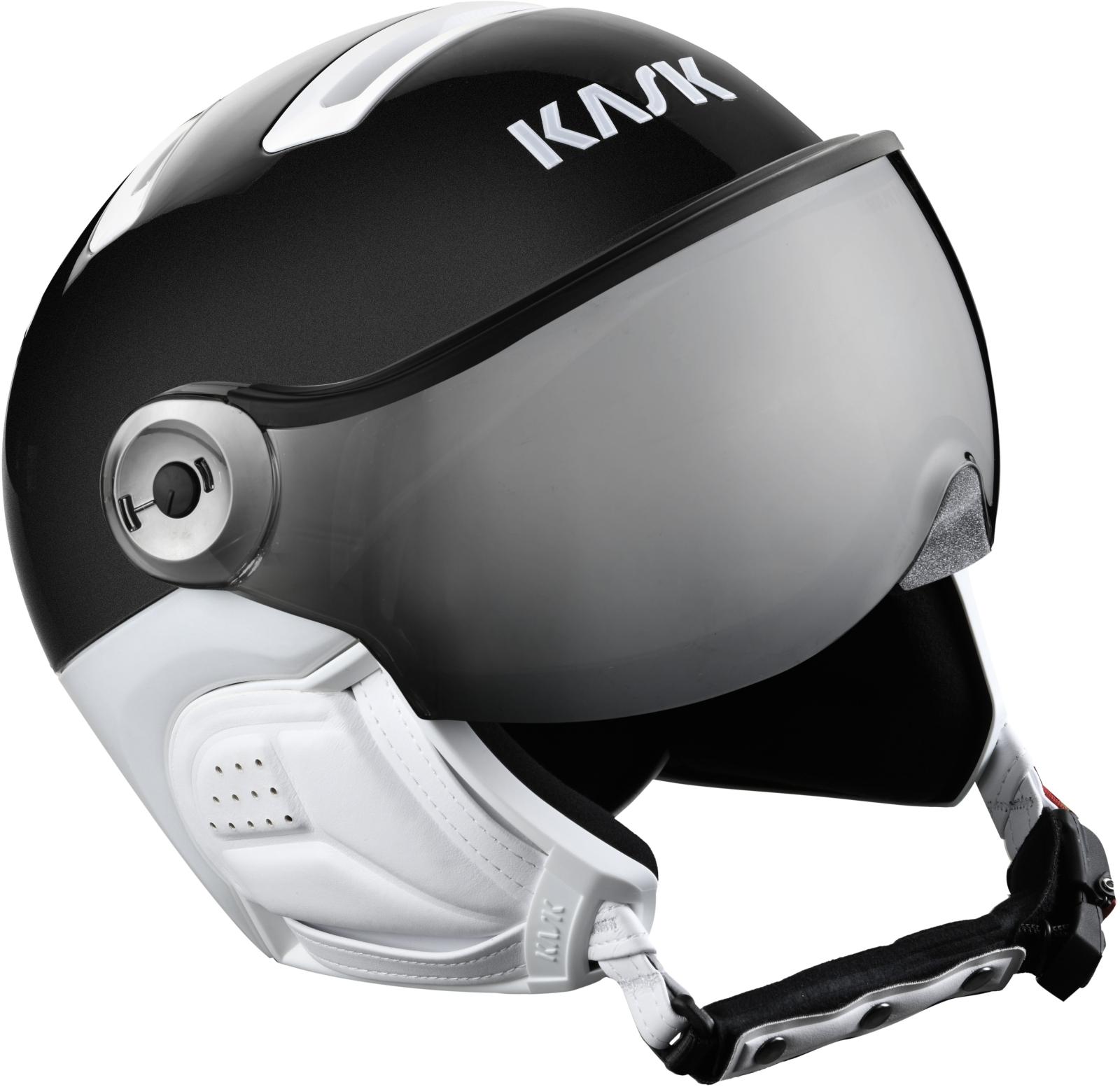 Kask Class Sport - Black/silver mirror 61