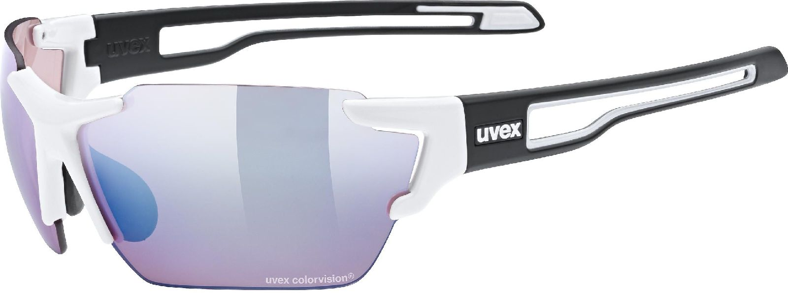 Uvex Sportstyle 803 CV - white/black mat uni