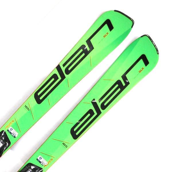 Bazar - sjezdové lyže Elan Race SLX 16/17 +ELX 12.0 165cm 165