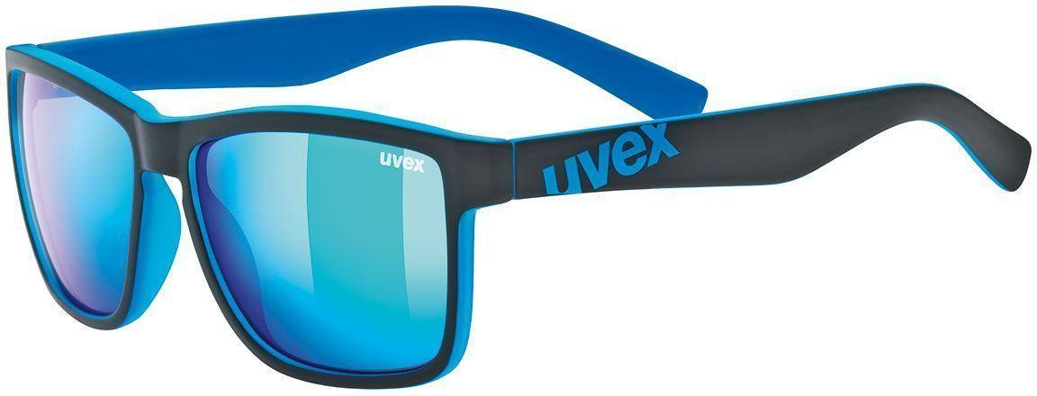 Uvex Lgl 39 - black mat blue uni
